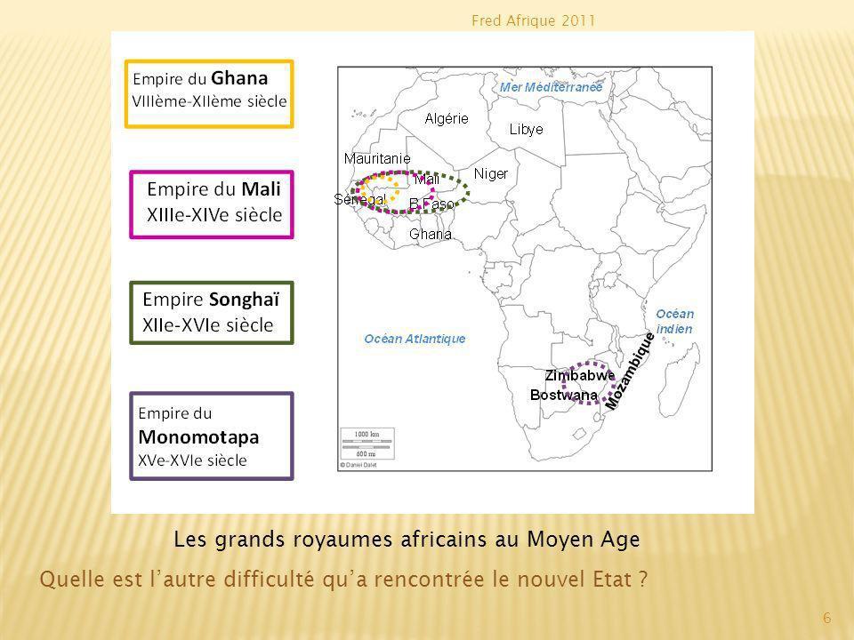 Fred Afrique 2011 Le Mali est un Empire puissant entre le XIIIème et le XVème siècle.
