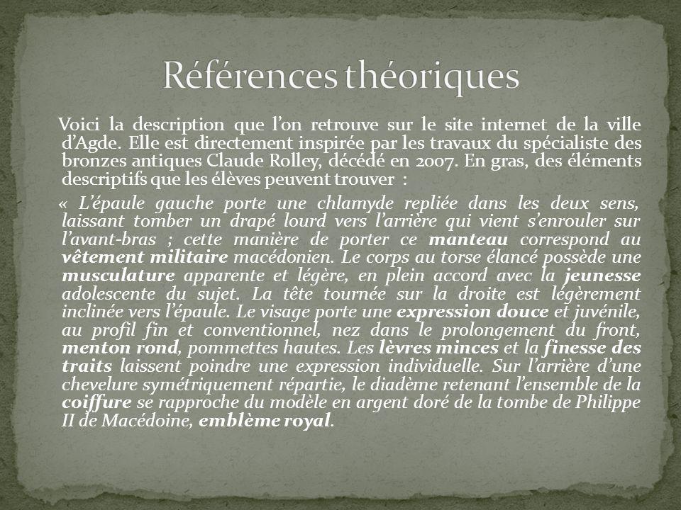 Voici la description que lon retrouve sur le site internet de la ville dAgde.