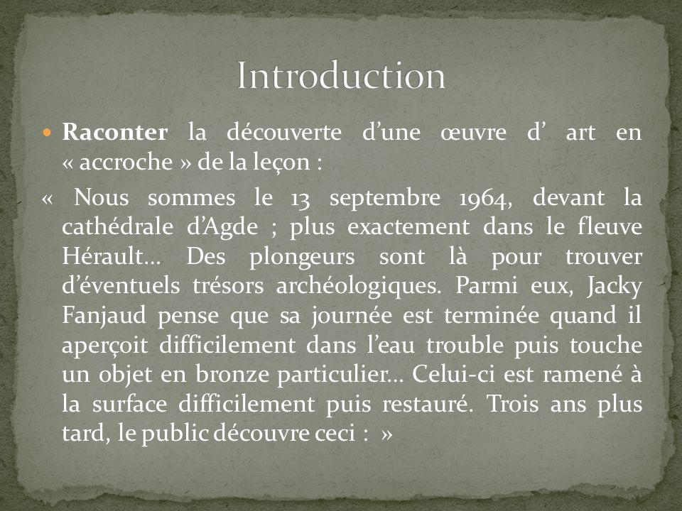 Cours dialogué : -Quelles sont les points communs entre les différentes représentations dAlexandre .