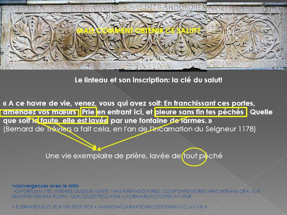 Au synode (réunion dévêques) de 1035, auquel participa lévêque Arnaud: (Les clercs) « décidèrent que lhomme qui aurait légué après sa mort son héritage à ladite église, et qui à la suite de la confession de ses péchés, recevrait sépulture dans le cimetière de Maguelone, obtiendrait labsolution de toutes ses fautes, avec remise de la peine qui leur serait due, et deviendrait participant de la vie éternelle et du royaume de Dieu » ( Chronique dArnaud de Verdale, éd.Germain, 508, in cahiers de Fanjeaux, 1995) De passage sur lîle, le pape Urbain II en 1096 « octroya à tous ceux qui y étaient ou y seraient inhumés labsolution générale de leurs fautes.