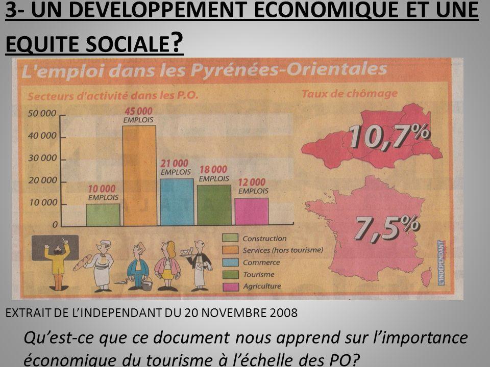 Une station balnéaire comme celle de Canet constitue un gisement majeur demplois dans un département qui peut apparaître en difficulté (taux de chômage de 10,5% pour 7,5 % à léchelle nationale; et plus fort taux de RMIste à léchelle de la France pour les PO)