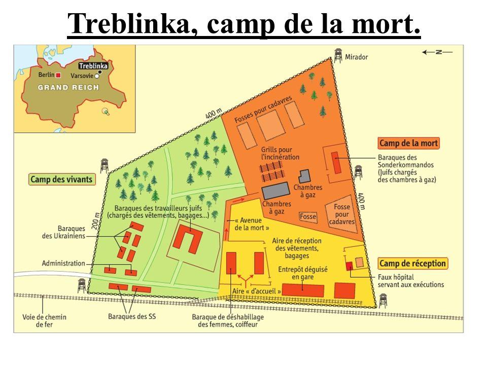 Treblinka, camp de la mort.