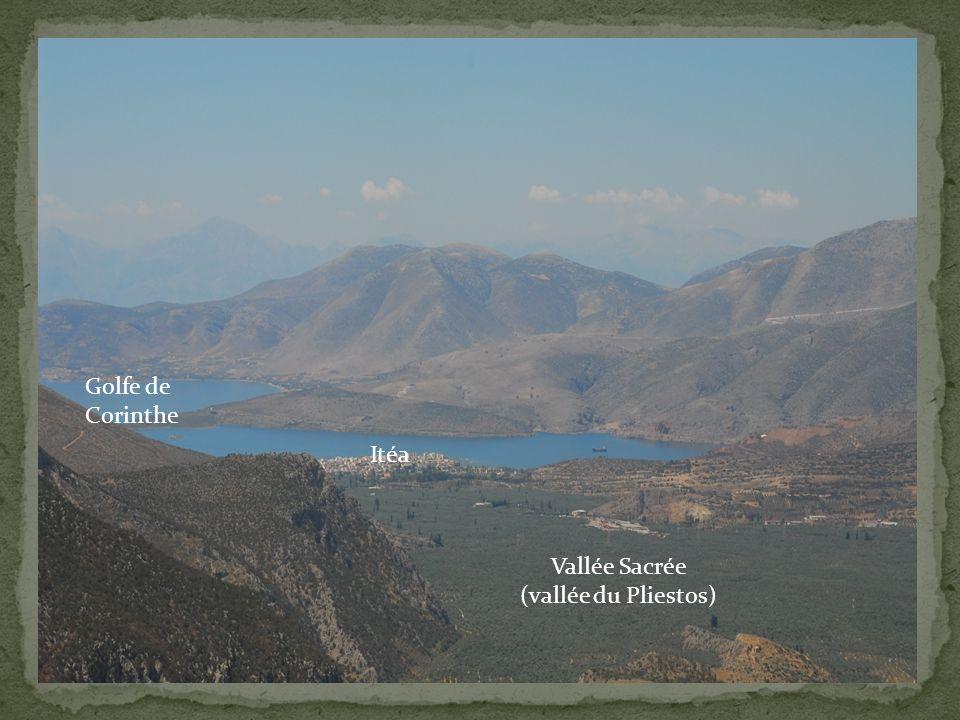 Golfe de Corinthe Itéa Vallée Sacrée (vallée du Pliestos)