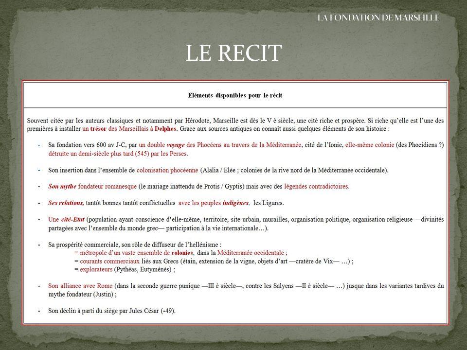 LE RECIT