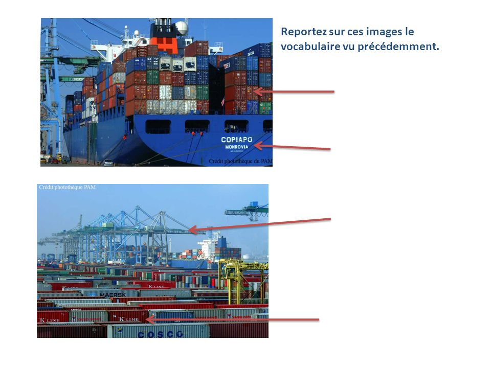 A laide de la photographie et du texte, expliquez pourquoi lusine Panzani sest installée à côté du port de Marseille.