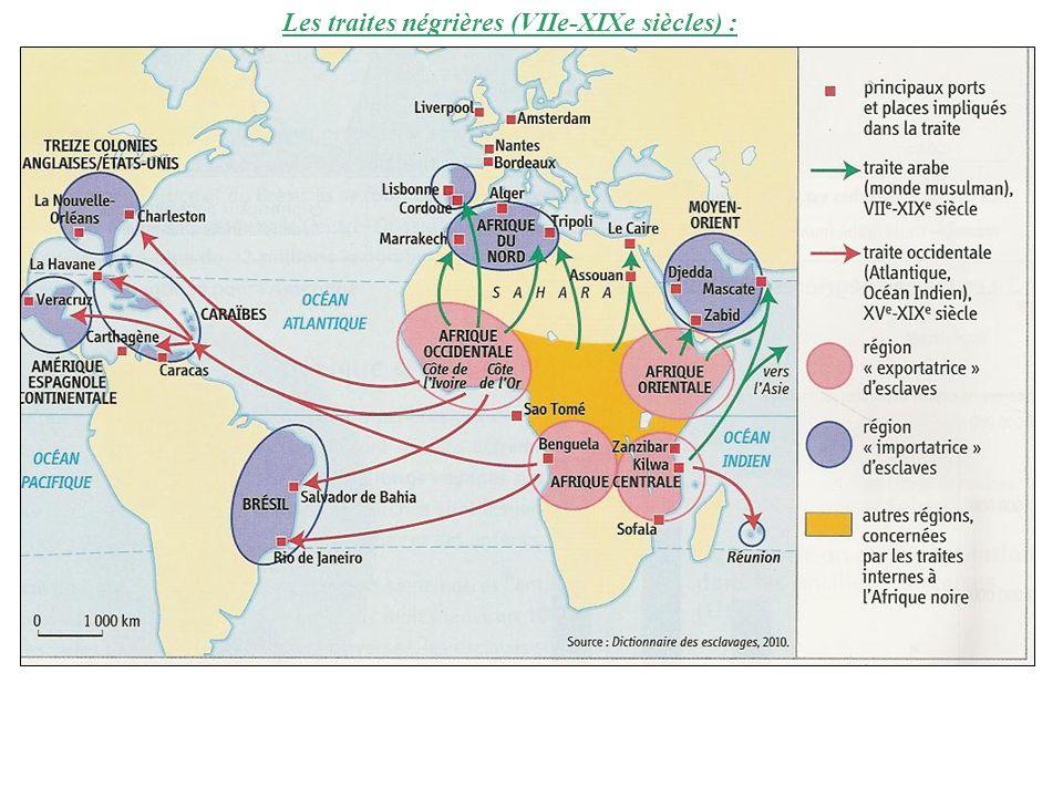 Les captifs et le comptoir européen :