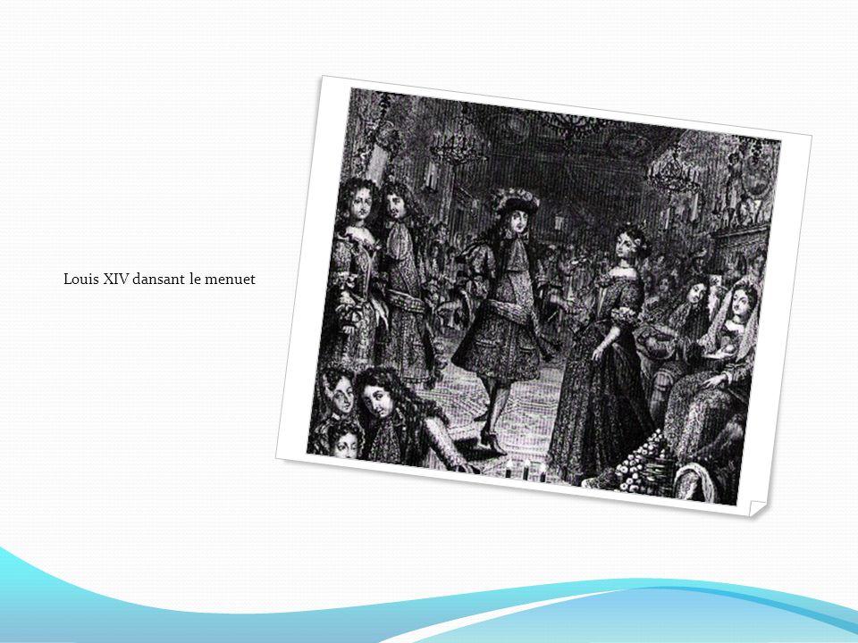 Louis XIV dansant le menuet