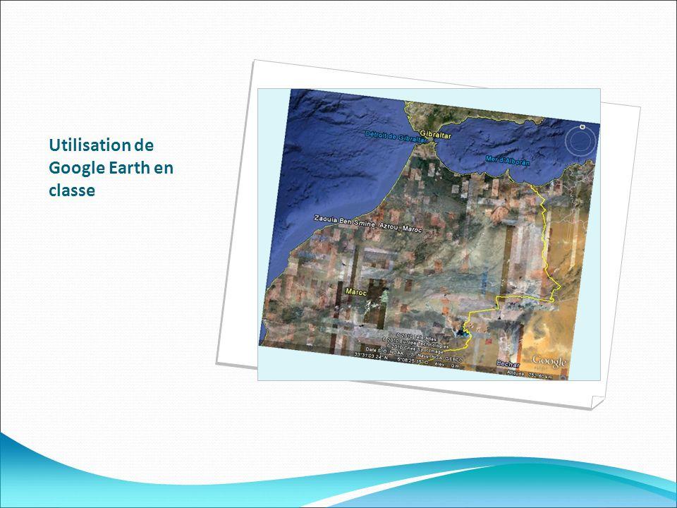 Utilisation de Google Earth en classe