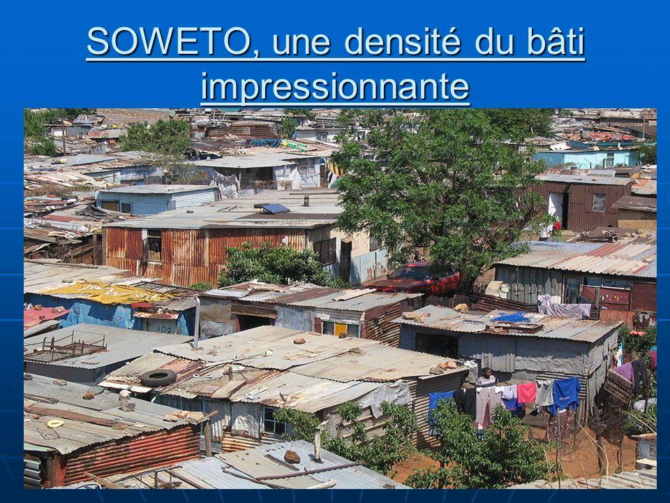 N. Barthélemy, 5° Géographie, 2010 SOWETO, une densité du bâti impressionnante