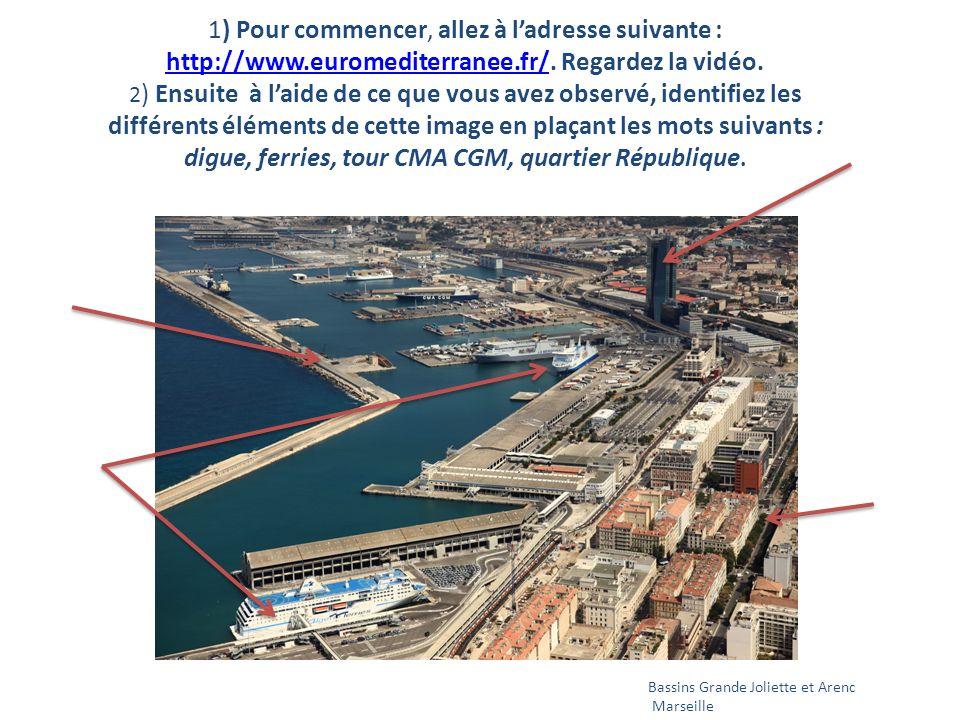 1) Pour commencer, allez à ladresse suivante : http://www.euromediterranee.fr/.
