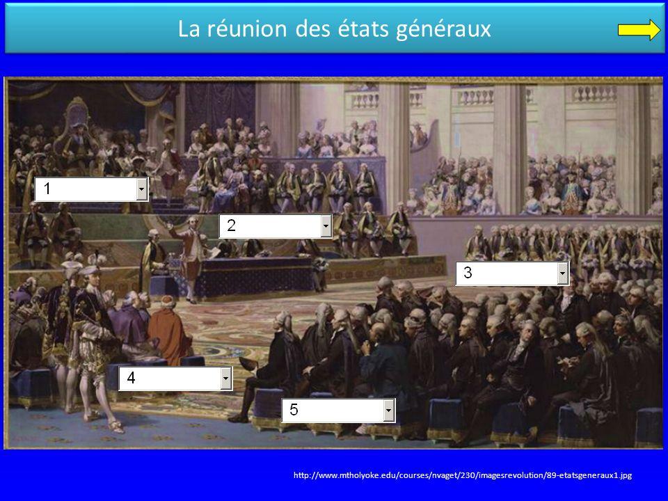 La réunion des états généraux http://www.mtholyoke.edu/courses/nvaget/230/imagesrevolution/89-etatsgeneraux1.jpg