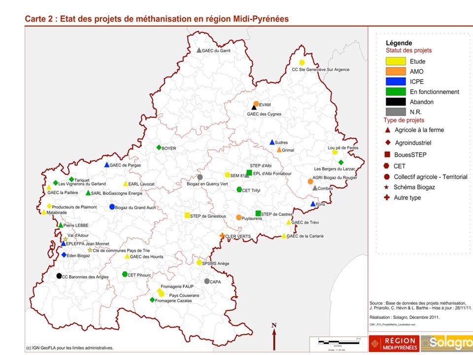10 16 zones retenues : Ariège ( Pays des Portes d Ari è ge-Pyr é n é es) Aveyron (Pays des Monts et Lacs du Levezou, Pays du Haut Rouergue + Pays Ruth é nois et PNR des Grands Causses) Haute-Garonne (Pays de Comminges-Pyr é n é es et Pays Sud Toulousain) Gers (Pays d Armagnac et Pays des Portes de Gascogne) Lot (Pays Bourian, Pays de la Vall é e de la Dordogne lotoise et PNR des Causses du Quercy) Hautes-Pyrénées (Pays des Nestes) Tarn (Pays Albigeois et Bastides et Pays Sidobre et Monts de Lacaune) Tarn-et-Garonne (Pays Midi Quercy et Pays Montalbanais) Liste Zones à fort potentiel