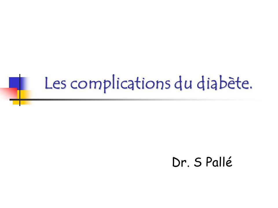 Rappels généraux En France: 1,5 à 2 M de diabétiques 1ère cause de cécité dans les pays industrialisés Hyperglycémie chronique toxicité cellulaire Principal coût financier Les complications