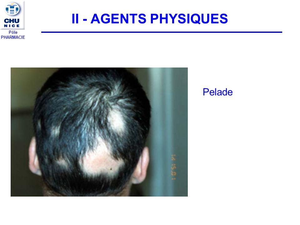 Pôle PHARMACIE II - AGENTS PHYSIQUES Pelade