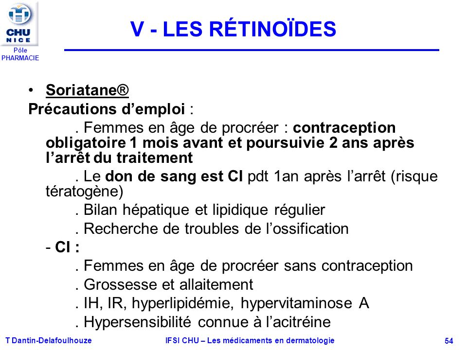 Pôle PHARMACIE VI - PSORIASIS ET THÉRAPIE BIOLOGIQUE Psorasis et thérapie biologique Cible spécifiquement la pathogenèse sous-jacente du psoriasis - Etanercept: Enbrel® Anti-TNF alpha injectable SC EI à court terme: douleur au point dinjection EI à long terme: risques de cancer.