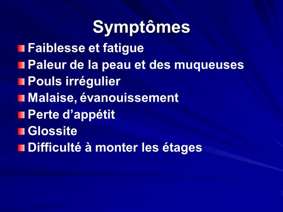 Objectifs Identifier les types danémie Identifier les causes danémie. Laboratoire Traitement.