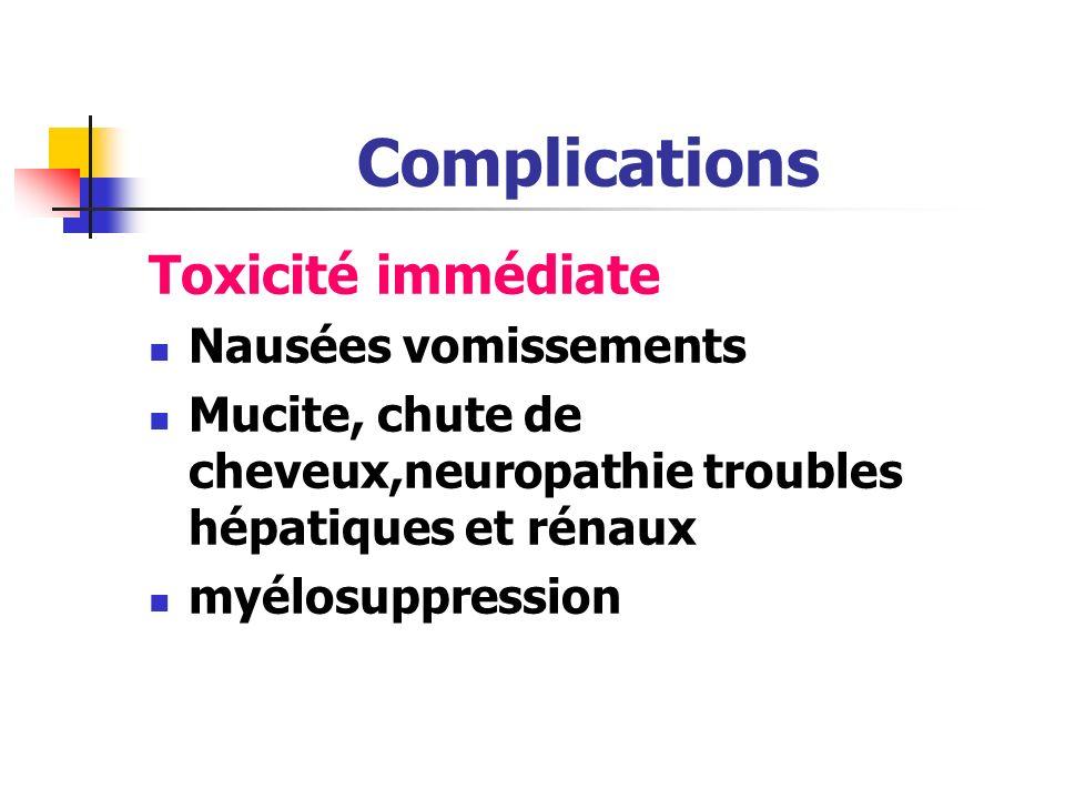 Chimiothérapie spécifique Inhibiteurs de la mitose Vincristine Vinblastine Autres Corticostéroides Greffe de moelle allogénique