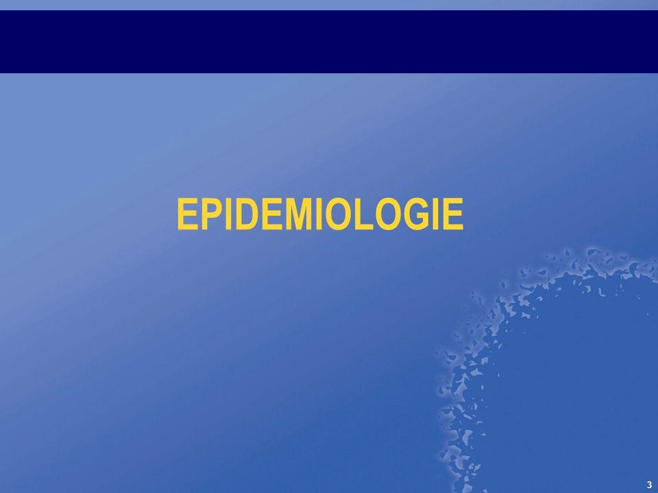 3 EPIDEMIOLOGIE