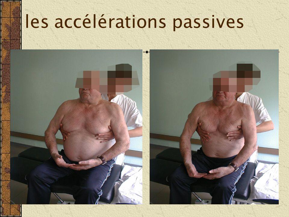 les accélérations passives