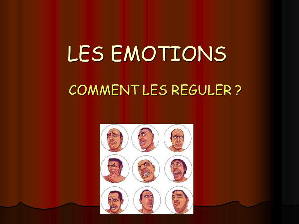 Dany Veys et Anne Giordano 2008 LES EMOTIONS COMMENT LES REGULER