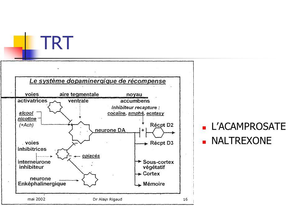 TRT LACAMPROSATE NALTREXONE