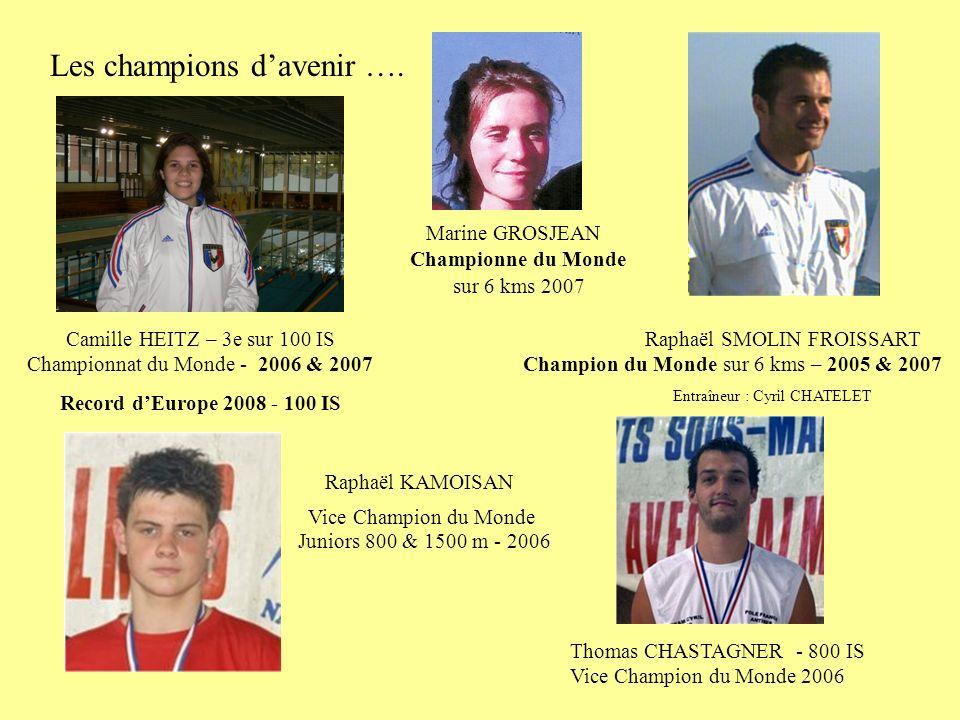 Les champions davenir ….
