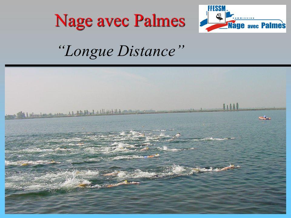 Nage en apnée et en immersion Nage avec Palmes Particularités compétitions piscine Obligation des concurrents L utilisation du tuba est exclue.
