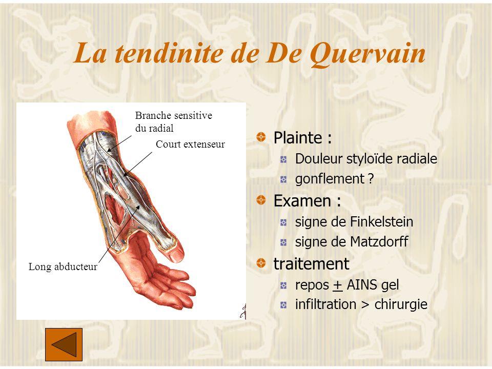 < 3 articulations Arthrose digitale : diagnostic Gonflement d au moins 2 ou plus de 10 articulations des doigts PIP, DIP du 2 &3eme doigts trapézometa