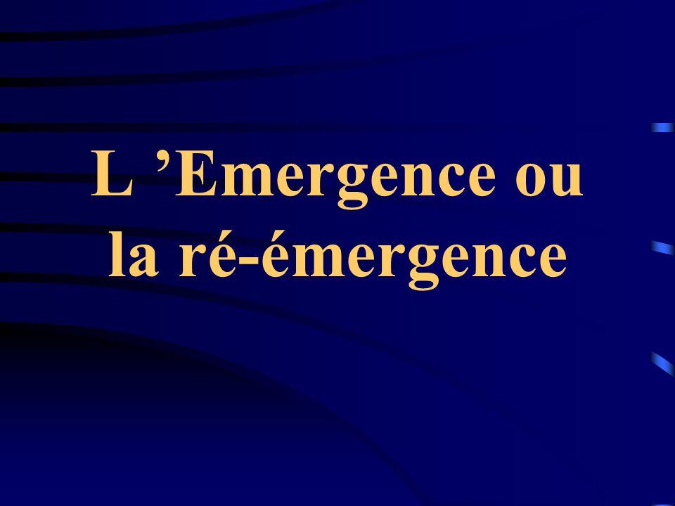 L Emergence ou la ré-émergence