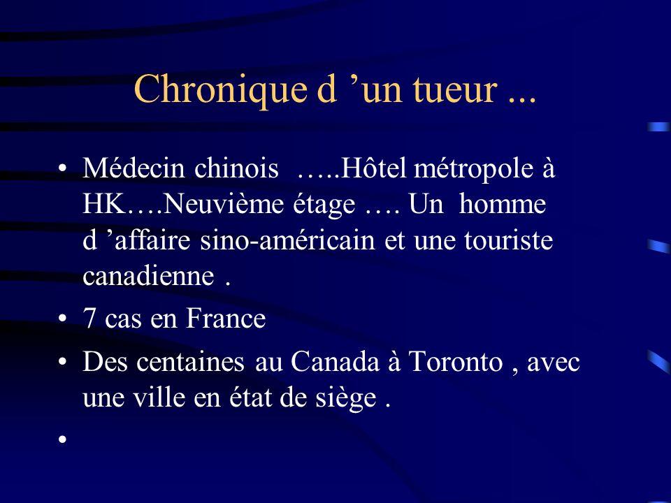 Chronique d un tueur...Médecin chinois …..Hôtel métropole à HK….Neuvième étage ….