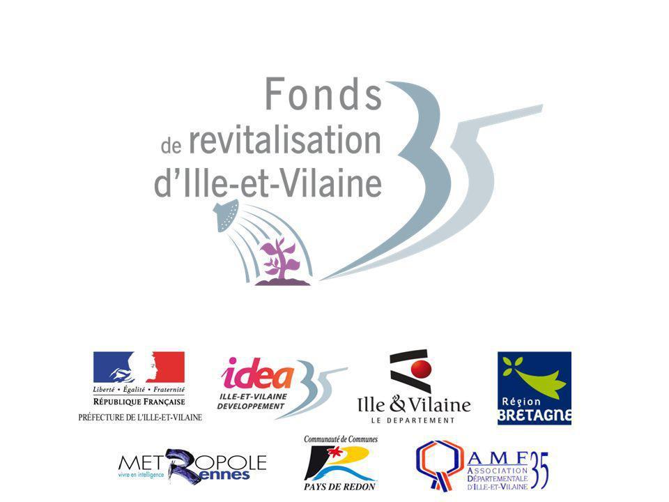 1 Présentation du Fonds de Revitalisation 35 Action départementale de revitalisation mutualisée