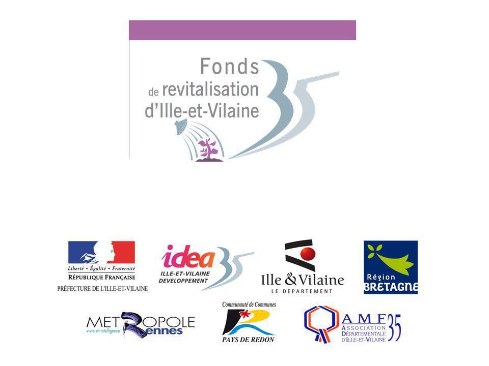 8 Présentation du Fonds de Revitalisation 35 Action départementale de revitalisation mutualisée