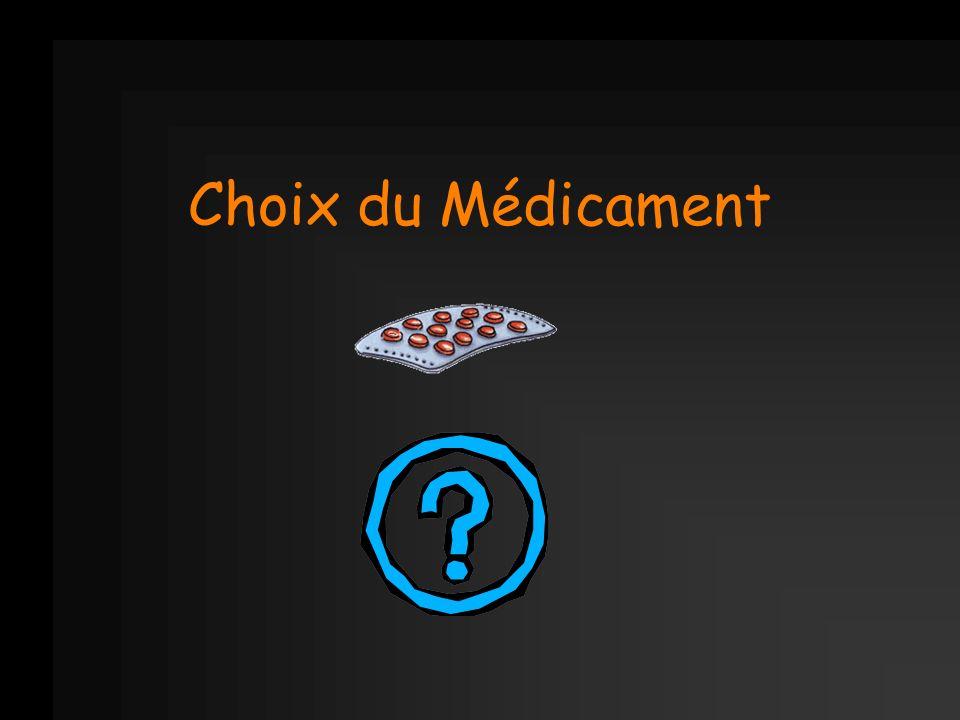 Choix du Médicament