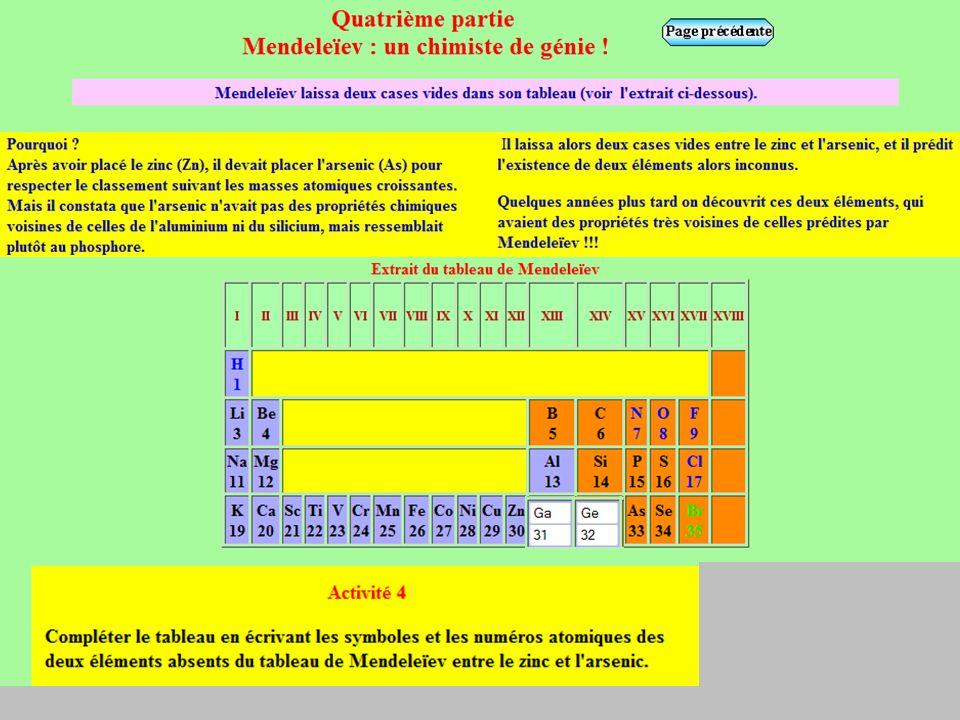 Cours : - Des atomes (isotopes) ou des ions dont les noyaux ont le même numéro atomique Z (nombre de proton) appartiennent au même élément chimique.