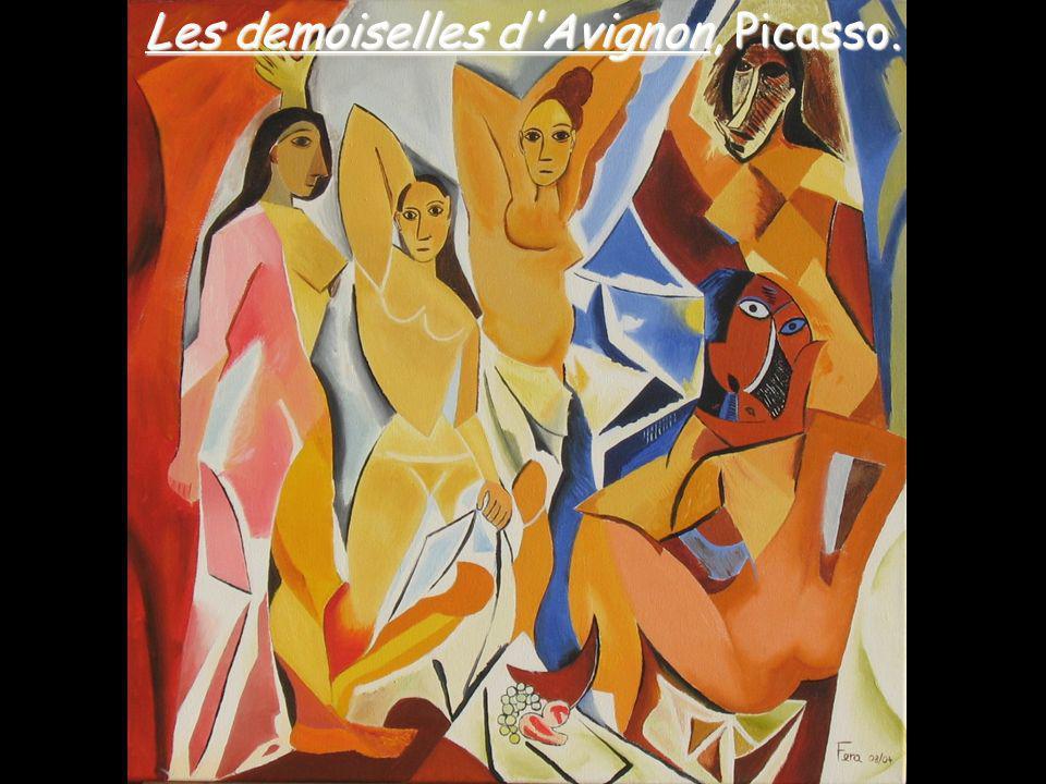 Les demoiselles d'Avignon, Picasso.