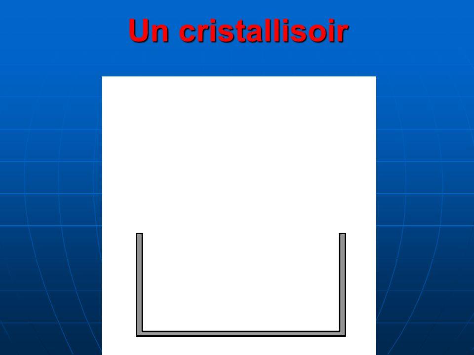 Un cristallisoir