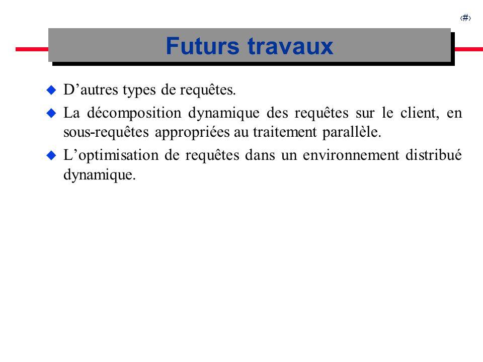 31 u Dautres types de requêtes.