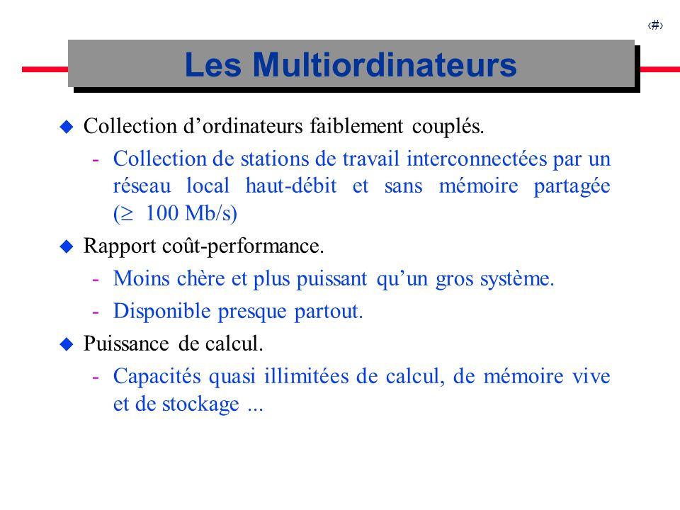 5 u Nouvelle classe de structures de données pour les Multiordinateurs.
