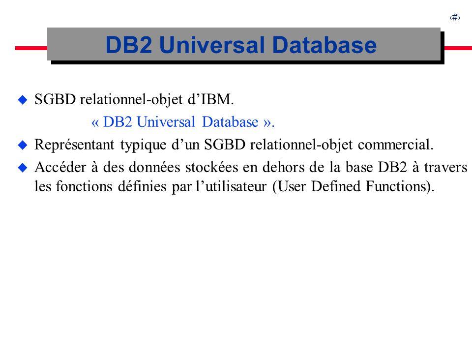 28 Expérimentations sur DB2-SDDS Temps de traitement d une requête à intervalleTemps par enregistrement Temps daccès aux données en fonction de leur lieu de stockage.