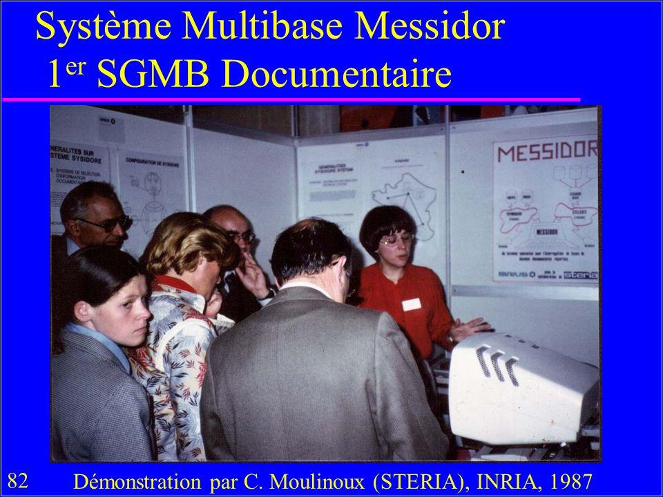 82 Système Multibase Messidor 1 er SGMB Documentaire Démonstration par C.