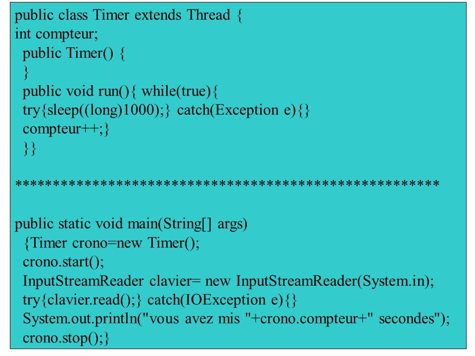 Page : 17 Introduction à JAVA : conteneurs exemple Écrire un programme qui saisie un caractère du clavier Changer le code pour que le programme affich