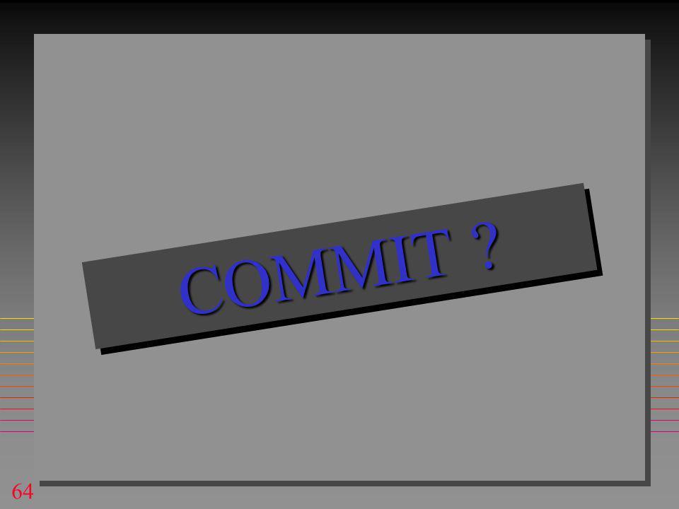 64 COMMIT