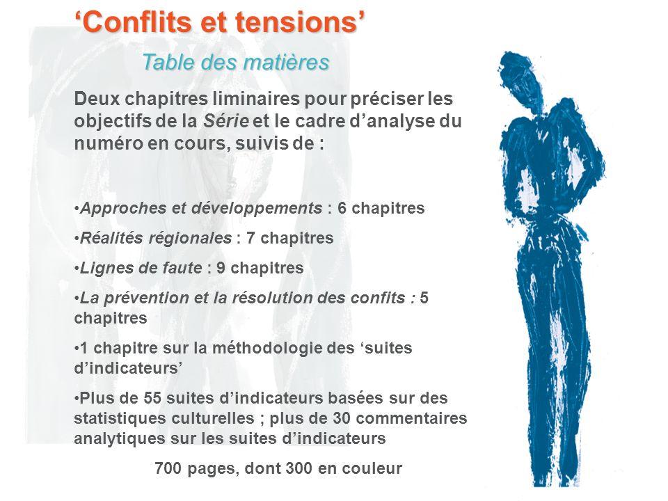 Conflits et tensions Que sont les conflits et les tensions culturels .