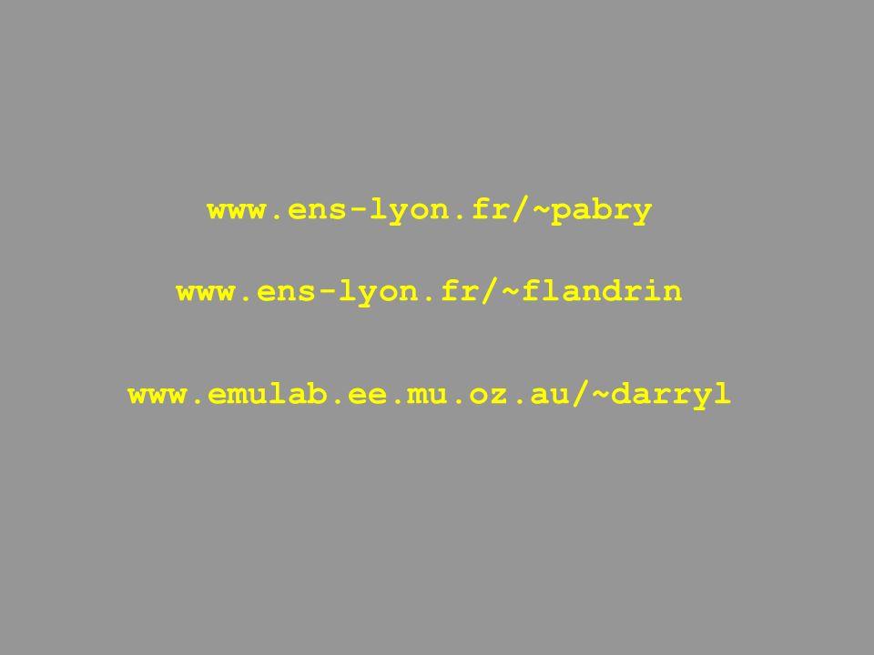 www.ens-lyon.fr/~pabry www.ens-lyon.fr/~flandrin www.emulab.ee.mu.oz.au/~darryl