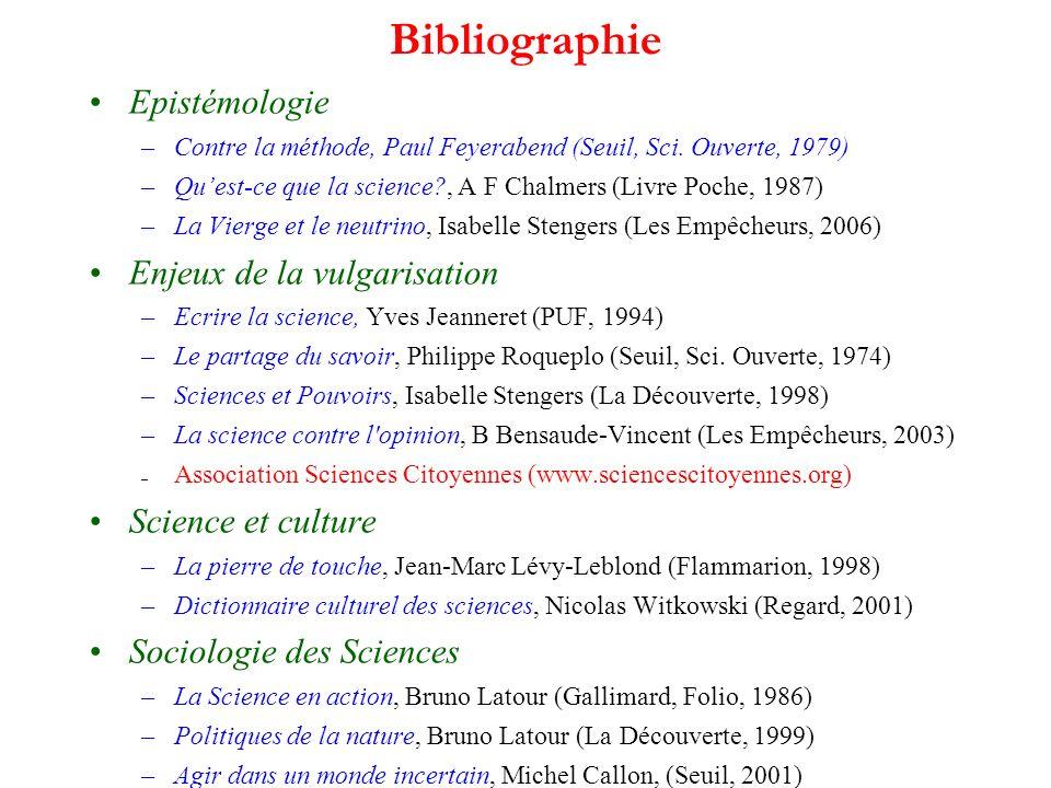 Bibliographie Epistémologie –Contre la méthode, Paul Feyerabend (Seuil, Sci.