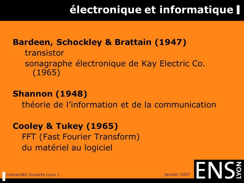 janvier 2007 Université Ouverte Lyon 1 un exemple « palindrome phonétique » Luc Etienne, La Bibliothèque Oulipienne, No.