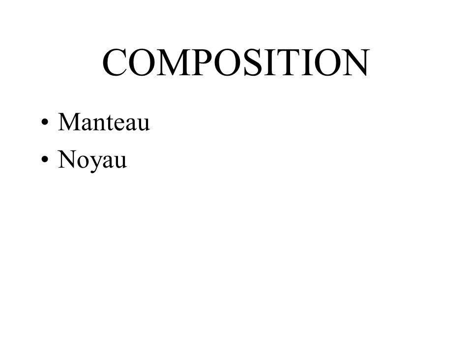 COMPOSITION Manteau Noyau