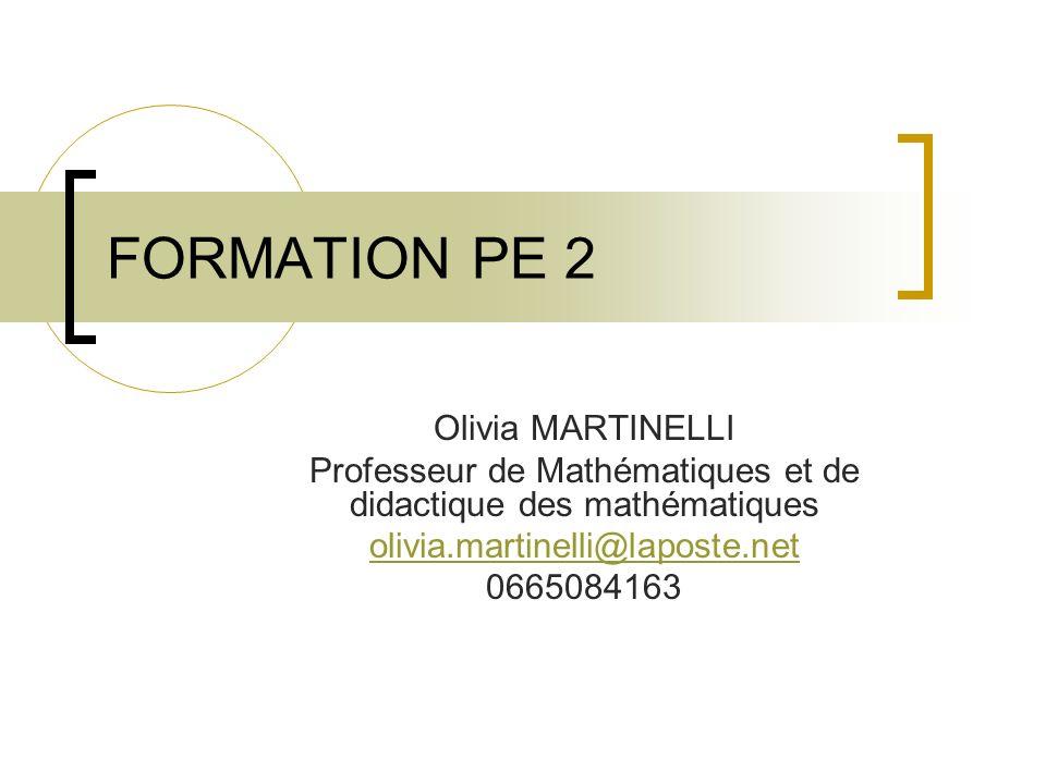 BIBLIOGRAPHIE BO n°13 du 19 juin 2008 « Donner du sens aux mathématiques» tome 1 et 2 de M.Fénichel et N.Piaf chez Bordas.