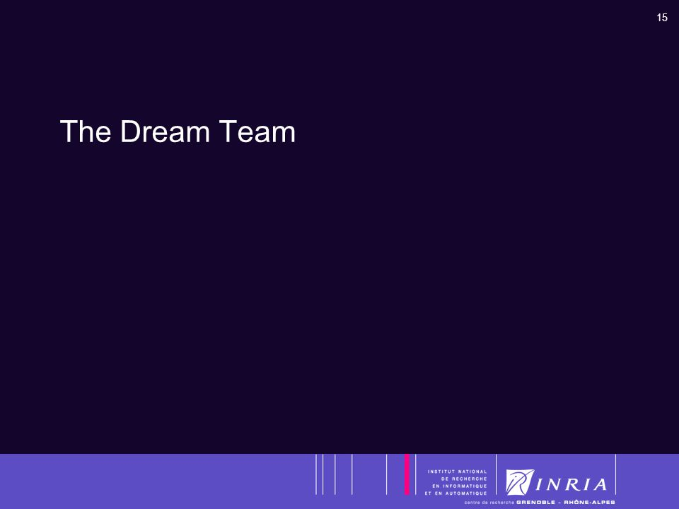 15 The Dream Team