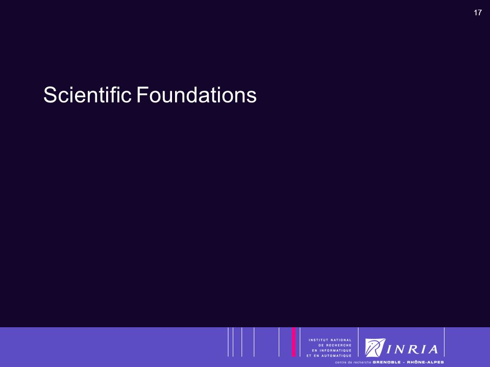17 Scientific Foundations
